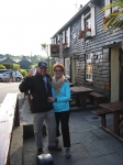 Bill Soltz and wife on their recent UK, Eire, and Scotland trip.
