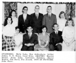 Early inductees  of the Class of '61 into NHS from page 59 of the 1960 Sachem. Aside  from being a terrific group portr