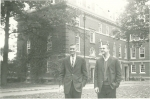 Melcher and Helmstetter start Williams College, Williamstown, Mass., in the Fall of 1961.